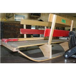 Child's Wooden Sled