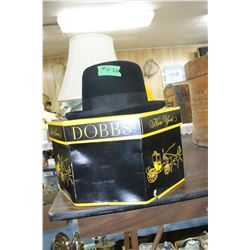 Black Boler Hat & Hat Box