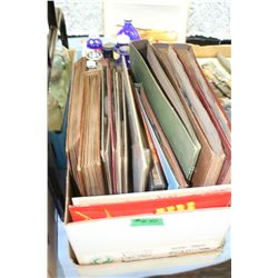 Box of 33 rpm Albums   ***Very Heavy