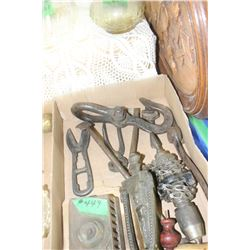 Box with Misc. Tools; Door Knocker & Door Chimes