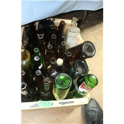 Box with Assorted Bottles