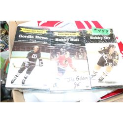 3 Hockey VHS Tapes