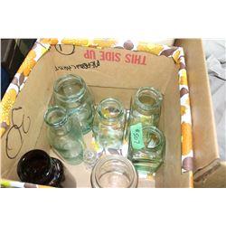 8 Assorted Bottles