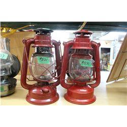 Pair of Red Lanterns