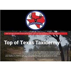 Top of Texas Taxidermy and Rockin' G Ranch