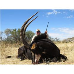 South African Sable & Victoria Falls Safari Combo in Northern Cape, 1 Hunter, 1 Observer