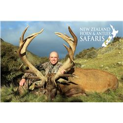 New Zealand 8-Day Red Stag, Bull Tahr, Alpine Chamois Hunt for up to Three Hunters