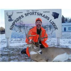Saskatchewan Trophy Whitetail Deer Hunt