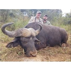 African Safari for 2 Hunters on an Exclusive Big-5 Hunting Area.