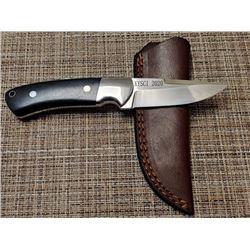 CUSTOM MADE KYSCI COMMEMORATIVE DROP POINT HUNTER KNIFE BY SABLE CUSTOM KNIVES