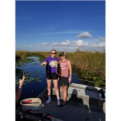 PRIVATE EVERGLADES EXPERIENCE FOR 6 PEOPLE