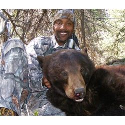 7 DAY BLACK BEAR HUNT FOR 1 HUNTER IN BRITISH COLUMBIA