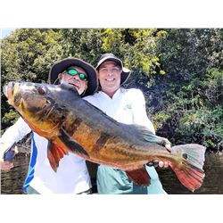 AMAZON MONSTER PEACOCK BASS FISHING FOR ONE FOR 7 DAYS