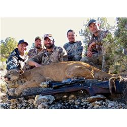 7-Day Arizona Guaranteed Mountain Lion Hunt on The Famed Arizona Strip