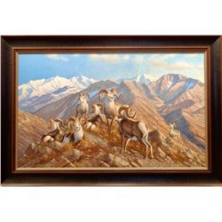 "Framed ""Stone Kings"" by Michael Sieve"