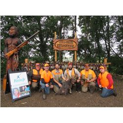 Cackle & Spur Charity Pheasant Hunt at Sand Pine Pheasants