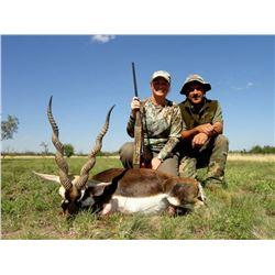 7-Day Hunt in Blackbuck/Wing Shooting hunt for 4 hunters and 4 non-hunters in Argentina