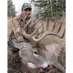 Alberta Whitetail Hunt for 1 Hunter