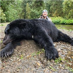 Alaskan Costal Black Bear for 1 Hunter