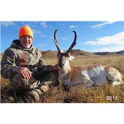 2021 Wyoming Antelope Hunt