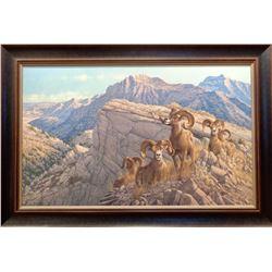 """Framed """"Desert Kings"""" by Michael Sieve"""