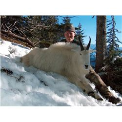 British Columbia Mountain Goat Hunt for 1  Milligan Outfitting