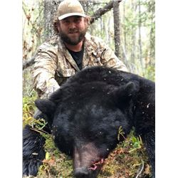 5-day Canadian Black Bear Hunt for 1 hunter, 2 bear area