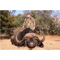 Cape Buffalo and Sable Antelope for 2 Hunters and 2 non-hunters, 10 Days