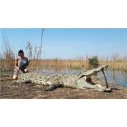 Crocodile Hunt for 1 hunter