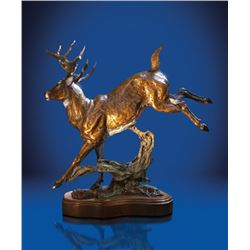 Hightail Bronze sculpture