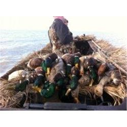 1-day (or limit) Waterfowl Hunt for 3 hunters