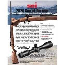 SCI Rifle of the Year - Montana Rifle Company American Legend Rifle 7mm Magnum