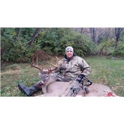 6-night/5-day, free-range, Whitetail deer hunt (1 buck