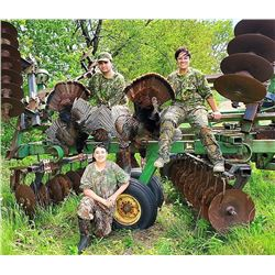 2-day Eastern Turkey Hunt for 1 hunter