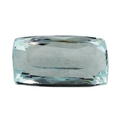 10.58 ct.Natural Cushion Cut Aquamarine