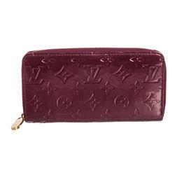 Louis Vuitton Violette Purple Vernis Monogram Zippy Wallet
