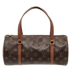 Louis Vuitton Monogram Canvas Leather Vintage Papillon 30 cm Bag