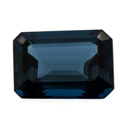 32.93 ct. Natural Emerald Cut London Blue Topaz