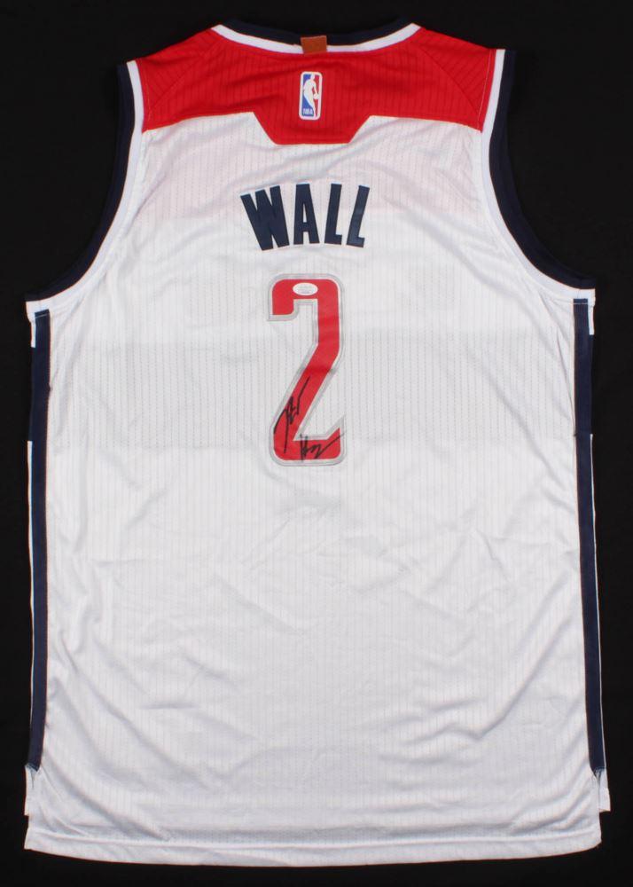 separation shoes 38110 5cdfe John Wall Signed Washington Wizards Jersey (JSA COA)