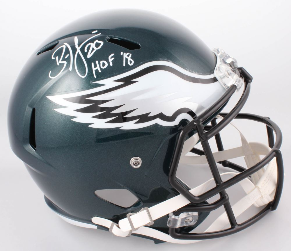 watch 1aff1 6f99c Brian Dawkins Signed Philadelphia Eagles Full-Size Speed ...