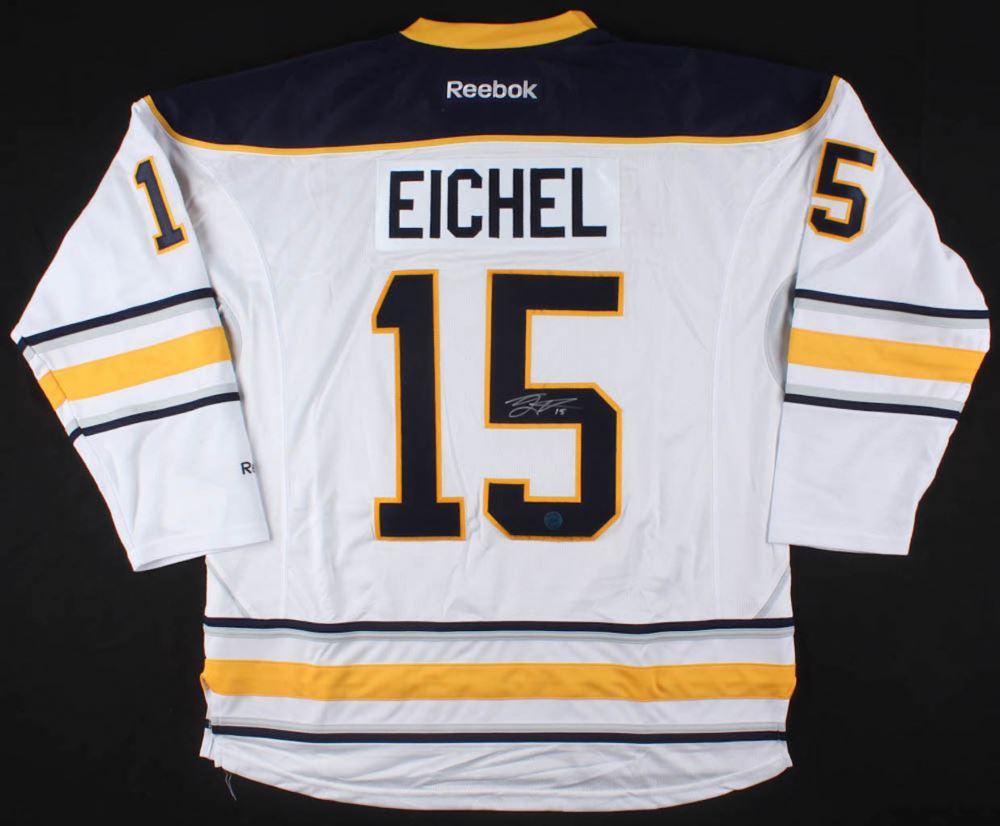 new concept 792e1 0d49f Jack Eichel Signed Buffalo Sabres Jersey (Eichel COA)