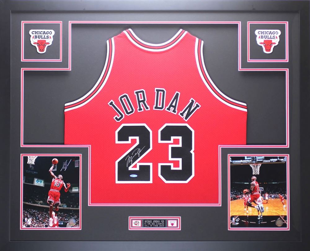 6f356e13bda19 Michael Jordan Signed Bulls 35