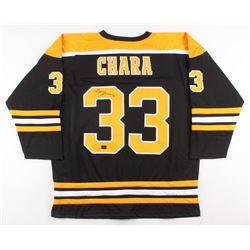 san francisco e0d59 709c6 Zdeno Chara Signed Boston Bruins Jersey (Chara COA)