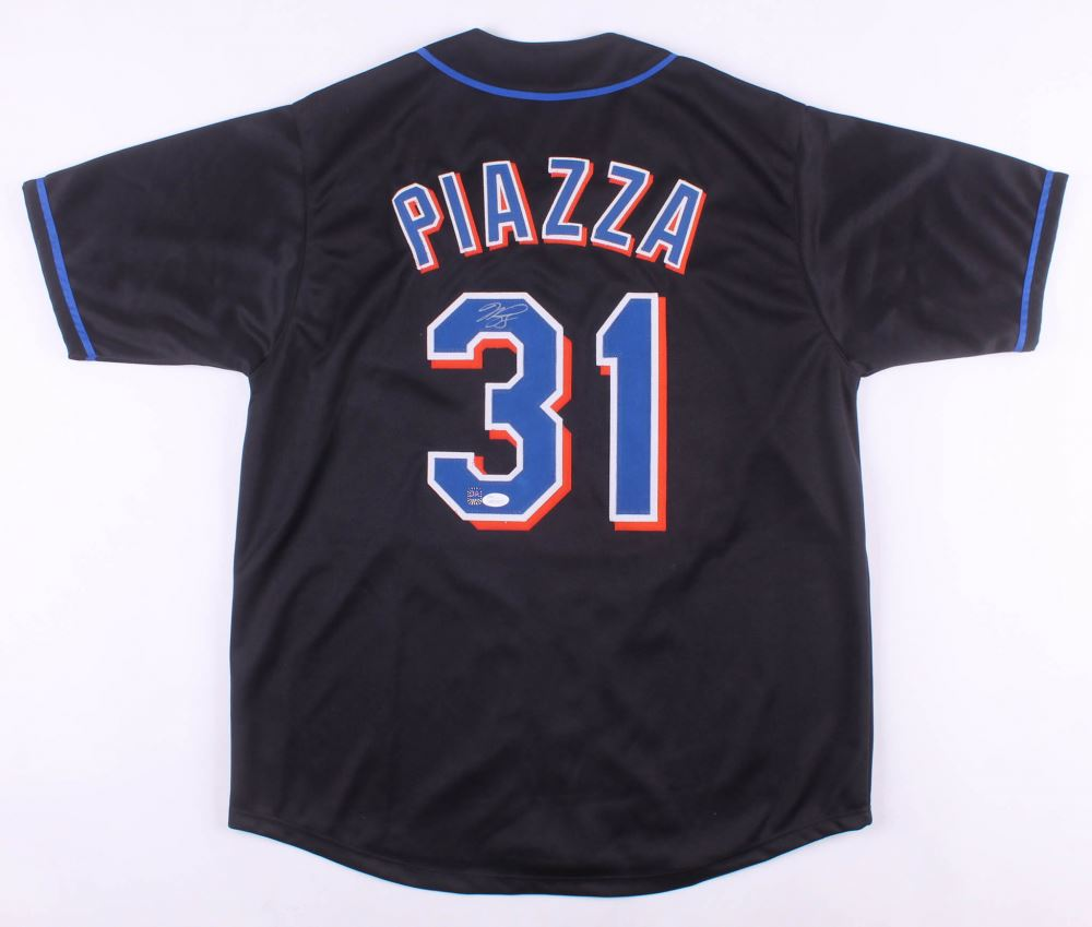 pretty nice ff24e f3bee Mike Piazza Signed New York Mets Jersey (Dave Adams COA ...