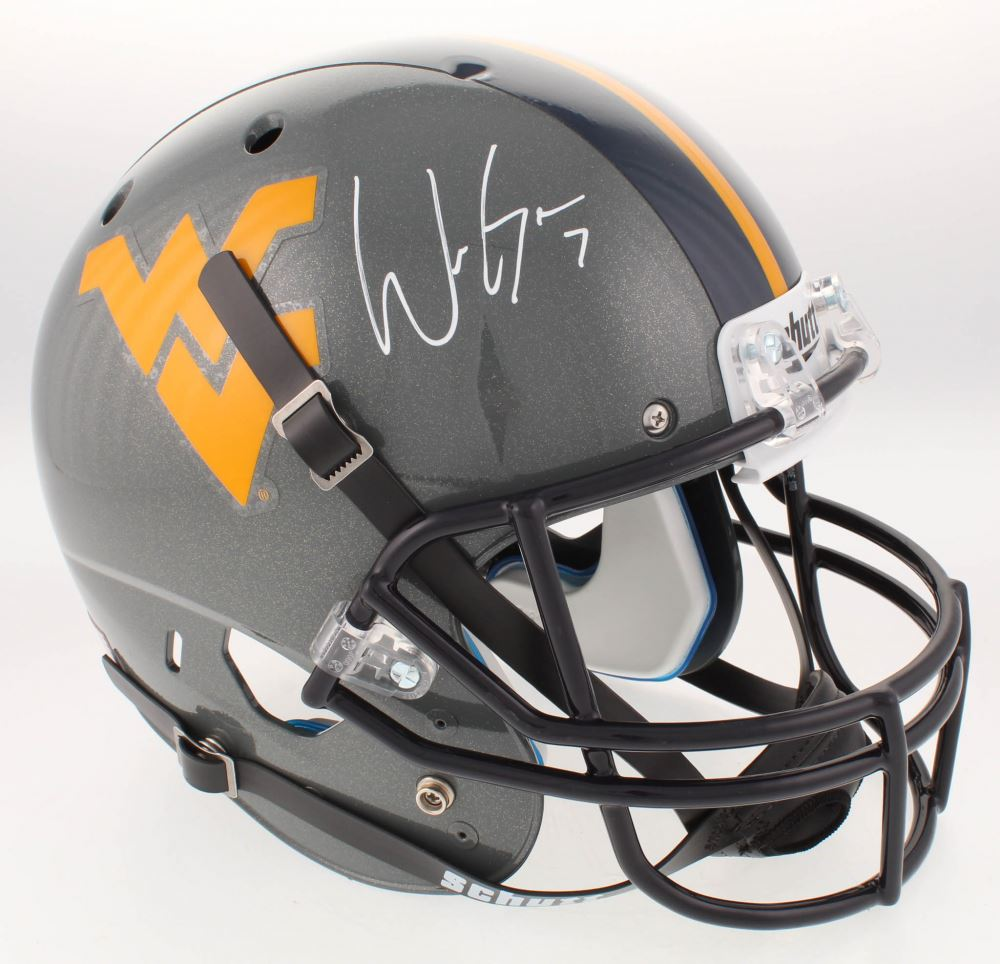 Will Grier Signed West Virginia Mountaineers Full Size Helmet