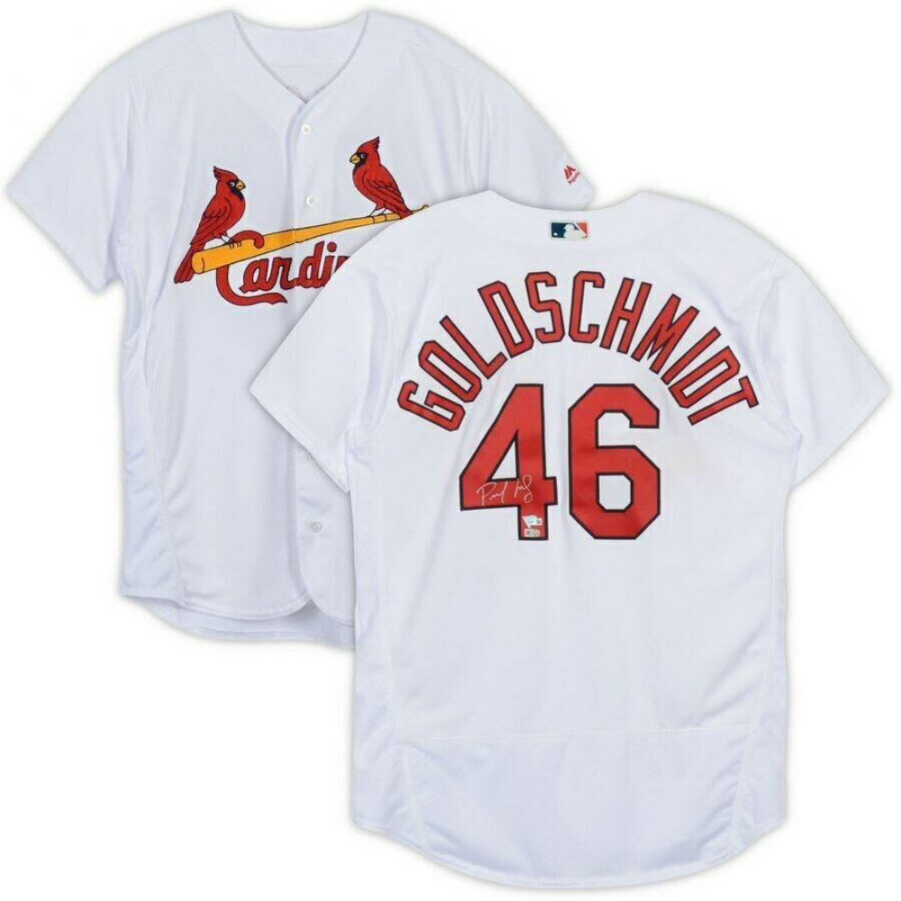 209b7cb7 Paul Goldschmidt Signed St. Louis Cardinals Jersey (Fanatics ...