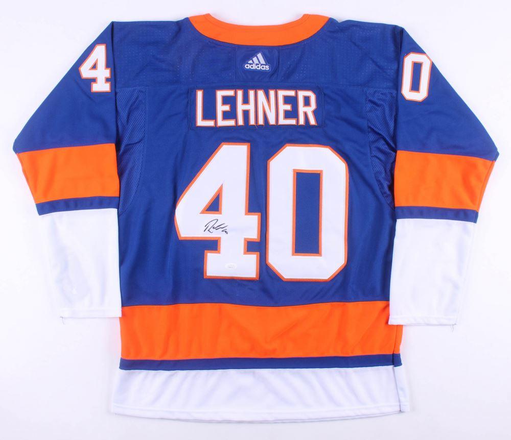 separation shoes 3756f 8205e Robin Lehner Signed New York Islanders Jersey (JSA COA)