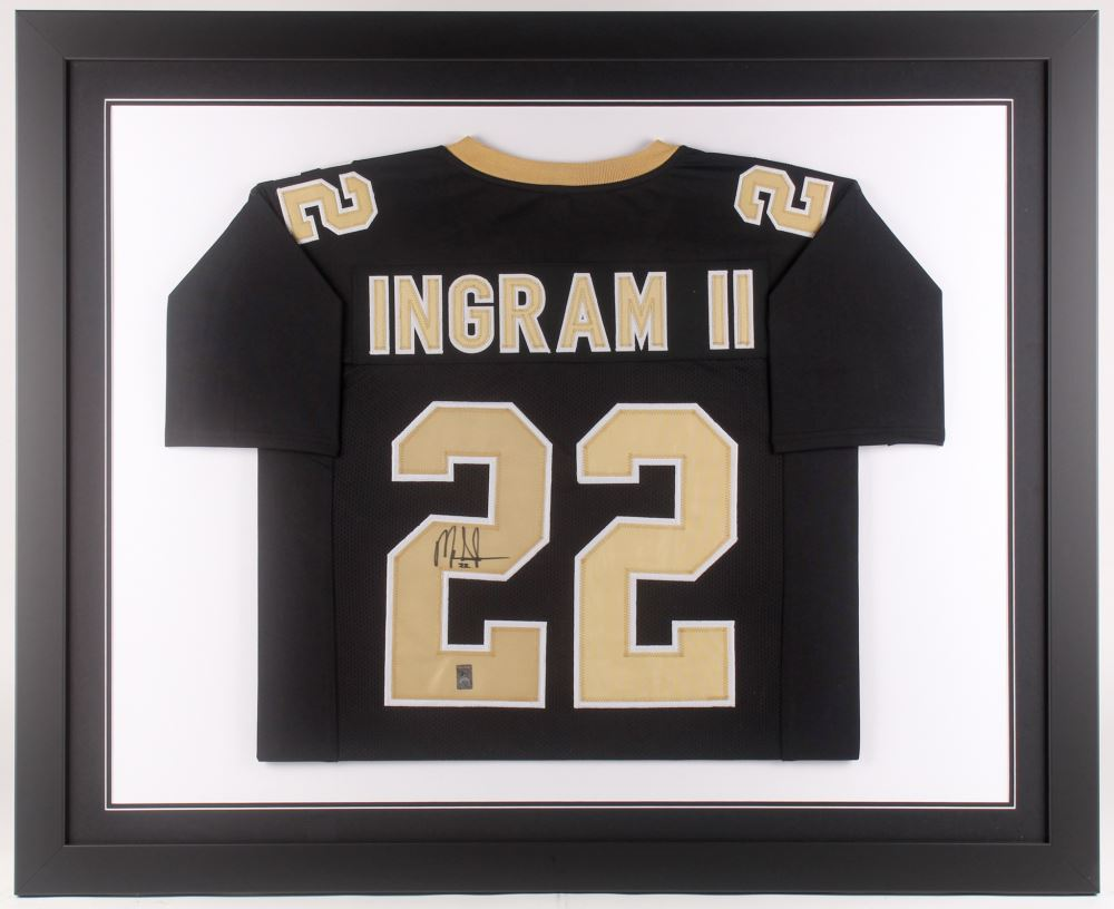 competitive price 32dce 4437b Mark Ingram Jr. Signed New Orleans Saints 35x43 Custom ...