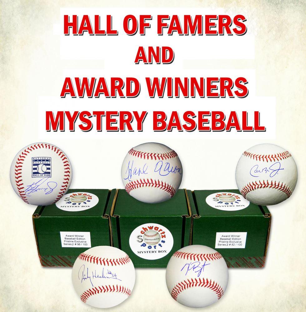 Schwartz Sports MLB Hall of Famer Award Winner Baseball