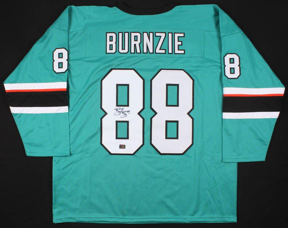 sneakers for cheap 25e1e fae4e Brent Burns Signed San Jose Sharks